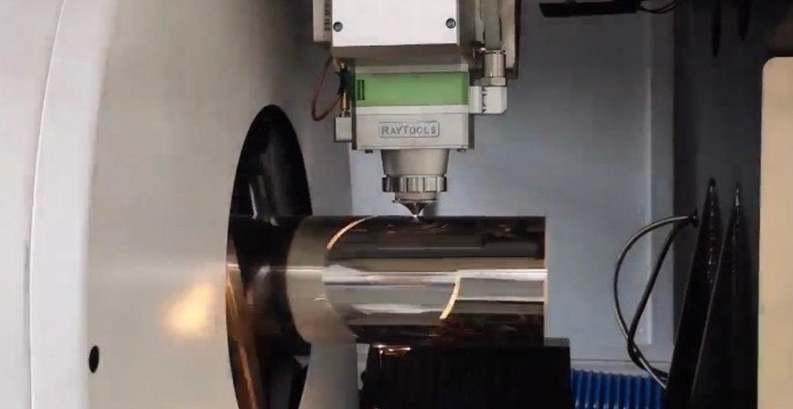 лазерная резка круглой трубы