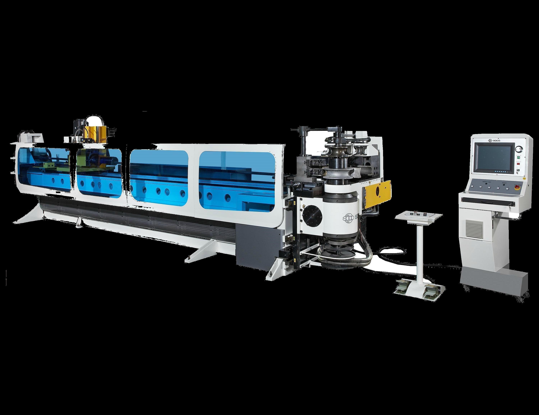 Автоматический дорновый трубогибочный станок SOCOSB -90-4A-3SV